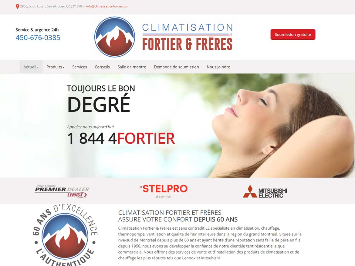 Climatisation Fortier