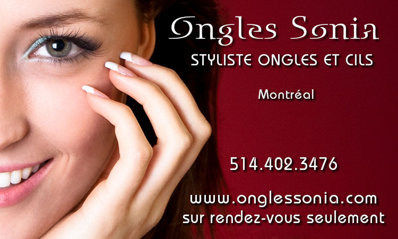 Ongles Sonia